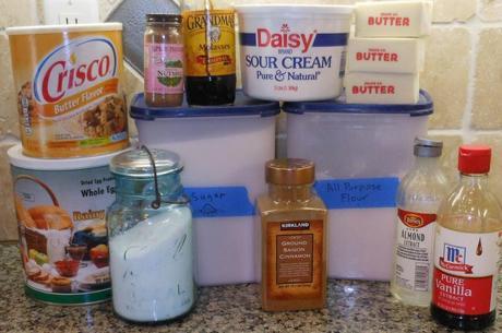 I gathered my ingredients.
