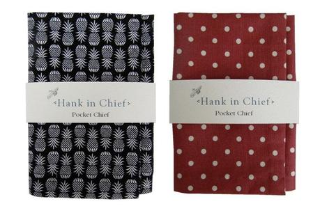 Hank In Chief | Hand Sewn Trimmings for Handsome Gents