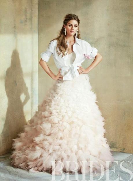 Olivia Palermo For Brides Magazine, June/July 2014
