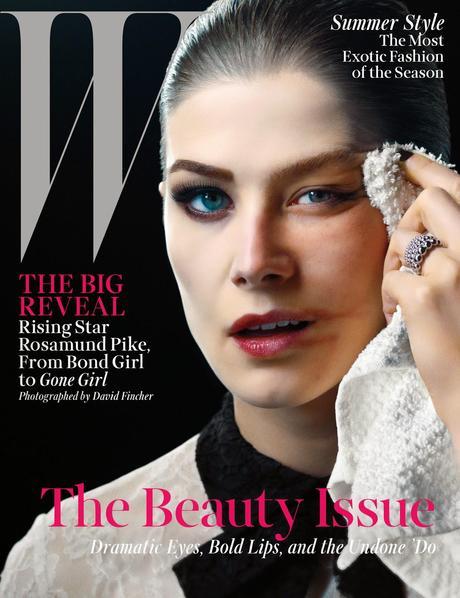 Rosamund Pike For W magazine, May 2014