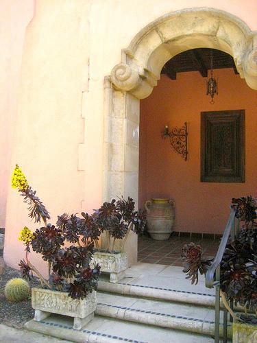 Lotusland House Entrance