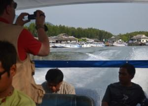 Travelling by Speed Boat Travel to Koh Yao Yai from Phuket Airport