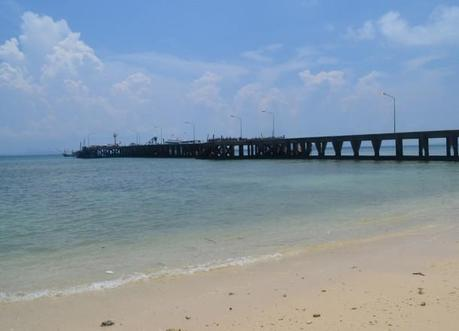Sandy Lohjark Beach and Pier, Travel to Koh Yao Yai from Phuket Airport