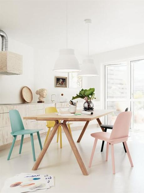 Pastel Chairs By Muuto