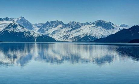 Alaskan Mountains and Water