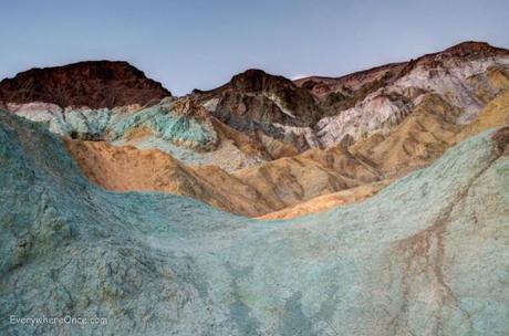 Artist Palette, Death Valley National Park, California