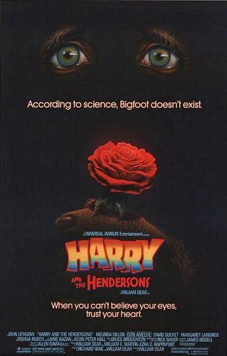 #1,353. Harry and the Hendersons  (1987)