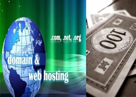 Get Either 100 Dollars or 130 Dollars Domain and Web Hosting