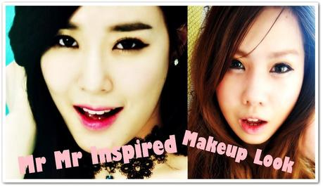 SNSD: Tiffany's Mr  Mr Inspired Makeup Look