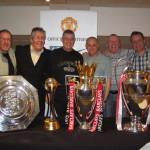 With the trophies United won in 2008
