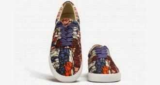 Art To Sink Your Feet Into:  BucketFeet Pop-Up Shop NYC-SOHO