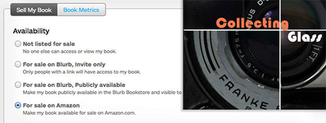 How to sell your blurb book on Amazon