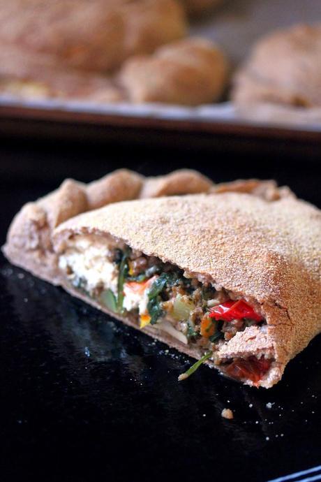 Veggie Calzones with Tofu Ricotta