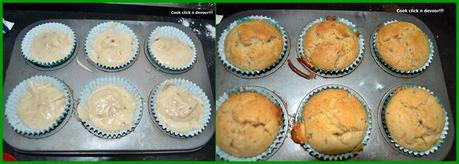 Eggless jam swirled muffin recipe
