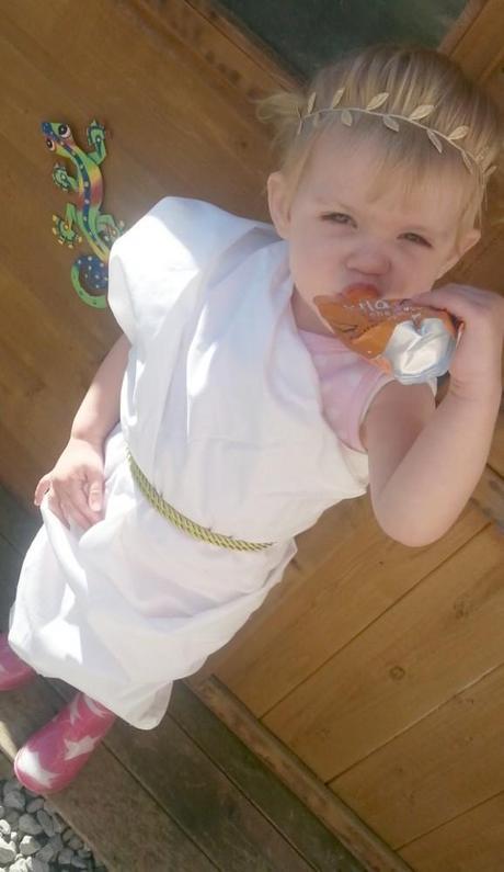 Little Miss A the Greek Goddess #TinyTitans