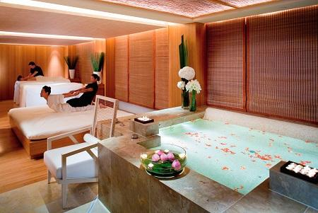 The spa-man; a facial experience at The Oriental Spa, The Landmark Hotel, Hong Kong,
