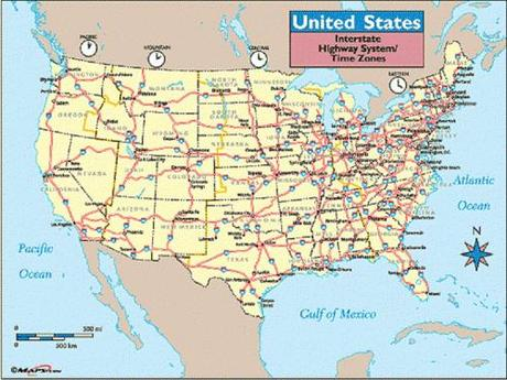 US Interstate highway system