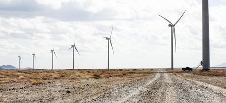 Vestas V100-1.8 MW turbines in Macho Springs, USA