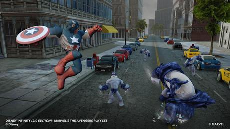 Captain America dives into action in Disney Infinity 2.0