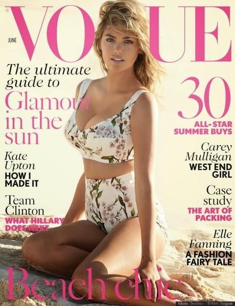 Kate Upton For Vogue Magazine, UK, June 2014