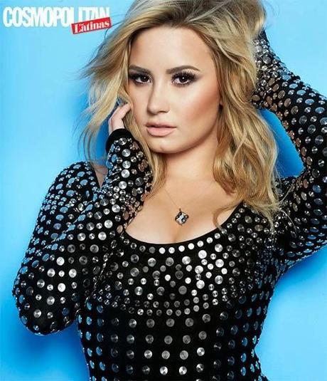 Demi Lovato in Cosmo For Latinas Magazine, June 2014