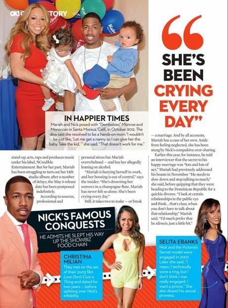 Mariah Carey For OK Magazine, US, May 2014