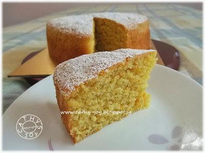 Silician Orange Cake