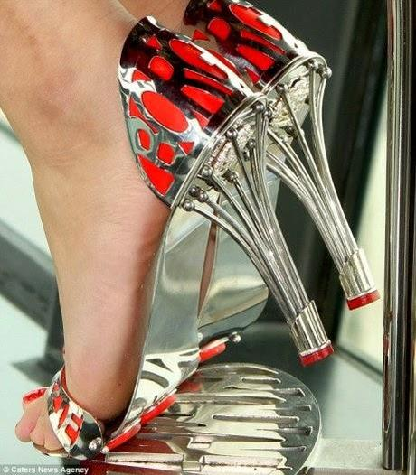 stainless steel stilettos that come with 1000 year guarantee