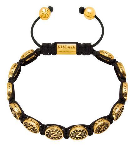 A great golden bracelet by Nialaya