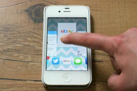 how to close running applications on an iphone