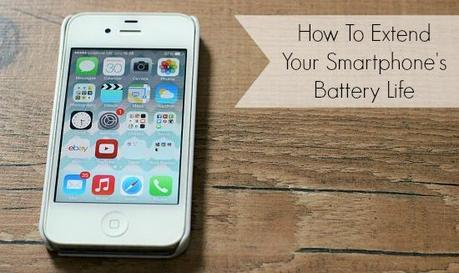 ways to extend smartphone battery life