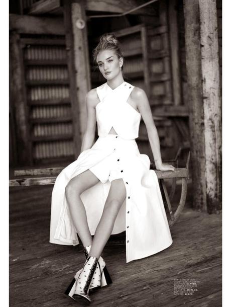 Rosie Huntington-Whiteley By Mathieu Cesar For Jalouse Magazine, May 2014