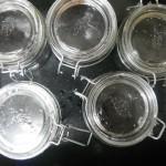 Jars Sterilized in Oven