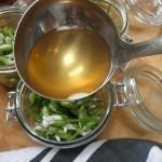 Adding the Pickling Liquid