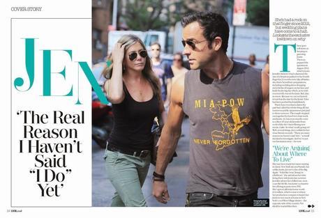 Jennifer Aniston For Look Magazine, UK, May 2014