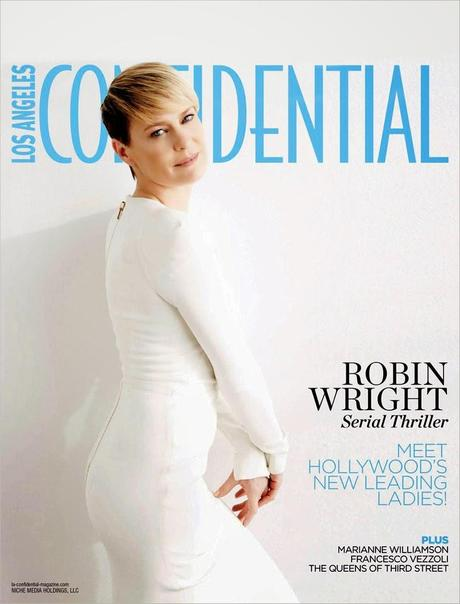 Robin Wright by Andrew Eccles for Los Angeles Confidential June 2014