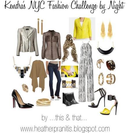 Kendra NYC Fashion Challenge by Night
