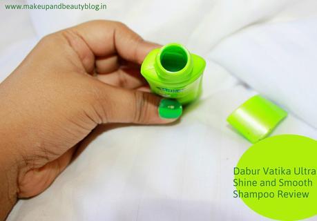 Dabur Vatika Ultra Shine and Smooth Shampoo Review