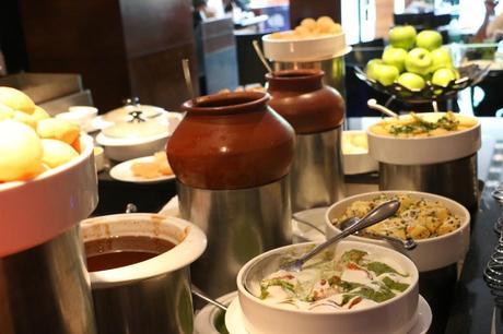 A lavish spread at New York Café(NYC), Sunday Brunch at Radisson Blu Plaza, Mahipalpur