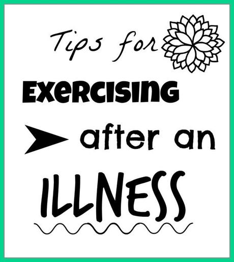 exercising after an illness