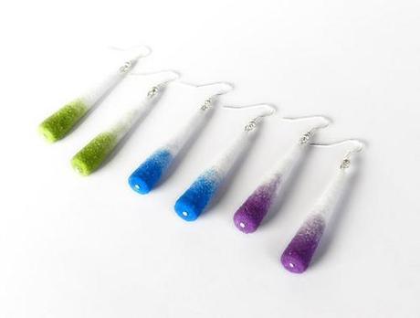 paper jewelry-earrings