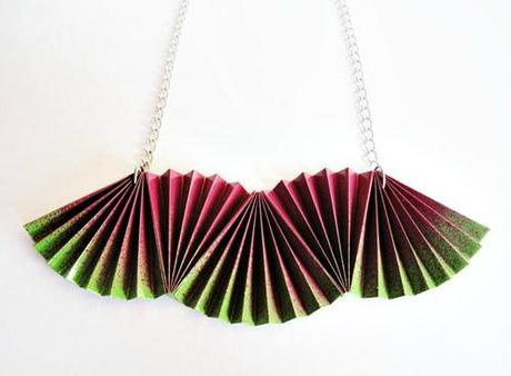 paper jewelry-necklace