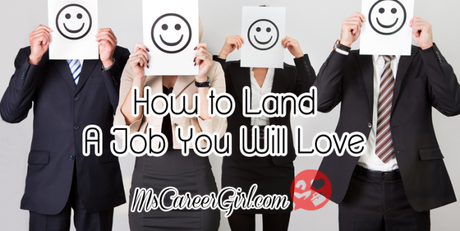 How-to Land a Job You Will Love