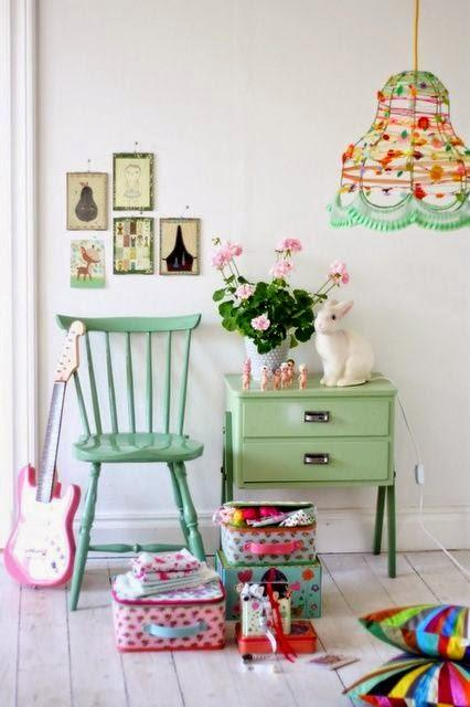 inspiration board | mint green
