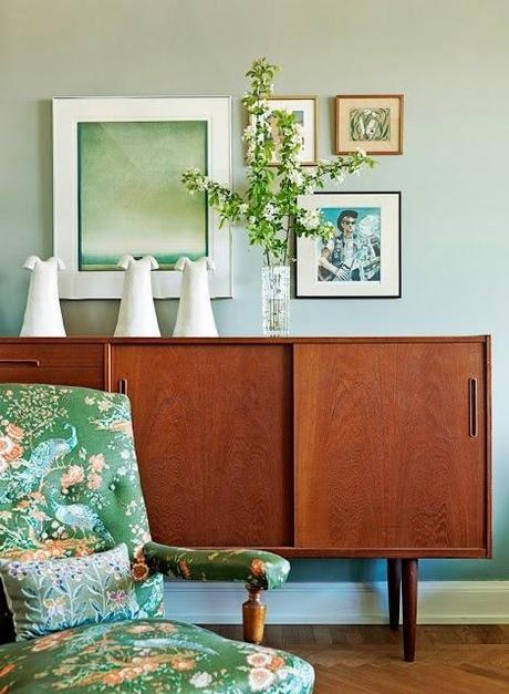 inspiration board   mint green