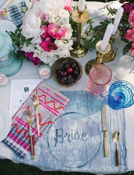 Sitting in a Tree Eclectic Garden Wedding