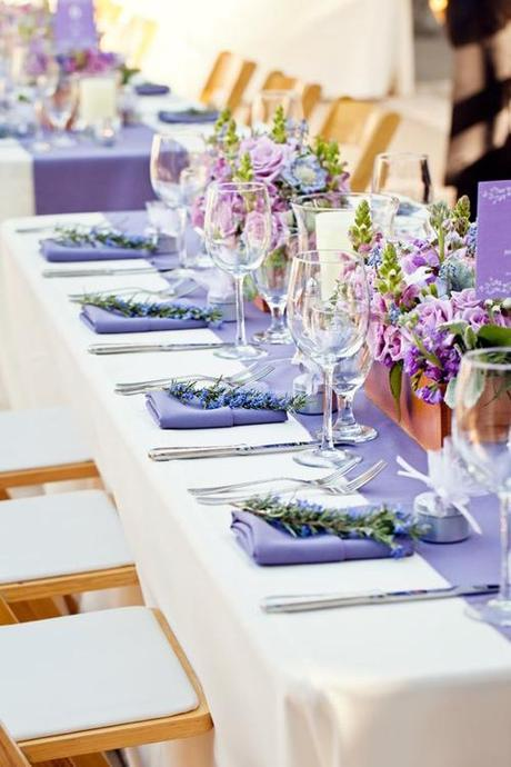 lavender-wedding-table