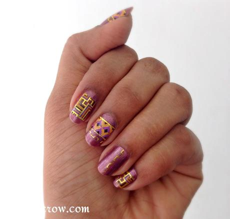 born pretty nail art water decals review