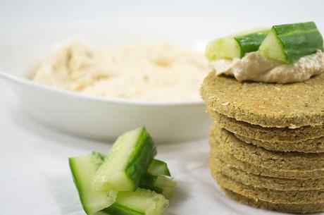 Vegan Cheese & Onion Oatcakes