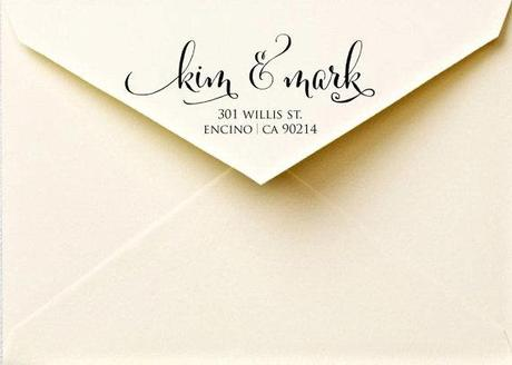 Post image for FreshmintPaperie Calligraphy Address Labels